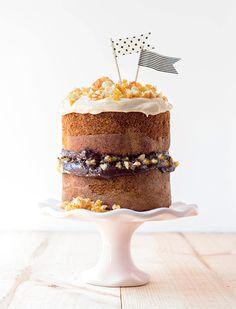 cupcak, pralin cake, cake flag, cake recipes