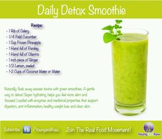 Daily Detox Smoothie (Young and Raw)