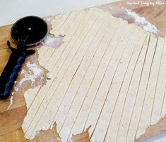 How To Make Homemade Noodles {Gluten-Free}