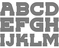 ESPN Music Issue font by Allan Peters