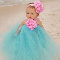 Zilly Bean Ocean Blue Tutu Dress