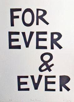 forever honey ... forever : )