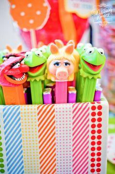 "Photo 12 of 45: Rainbow /Muppets / Birthday ""Muppet Show Birthday""   Catch My Party"