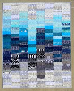 Love this quilt by @teaginnydesigns  Partly Cloudy | Flickr - Photo Sharing!
