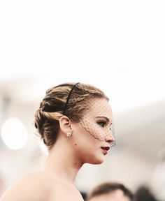 Jennifer Lawrence at the Met Gala 5/'13
