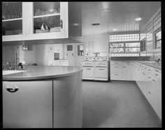 50s kitchen photographed by Julius Shulman