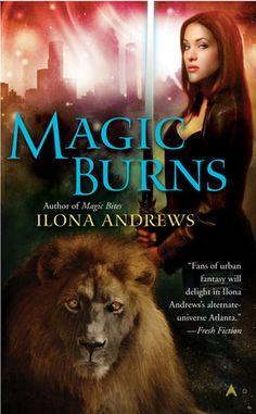 Magic Burns Ilona Andrews