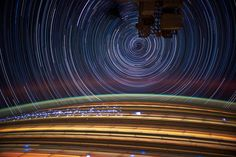 Incredible Long Exposure Photographs Shot from Orbit (click through for several more incredible photos)