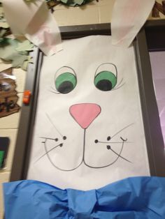 Classroom door decoration for Spring