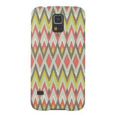 Tribal Ikat Galaxy S5 Covers