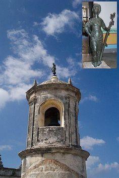 El Castillo de la Real Fuerza era la primera gran defensa de La Habana y se inició en 1558 sobre los restos de un antiguo fuerte