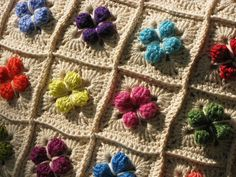 Mini pop corn crochet stitch, inspiration.