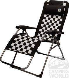 Chequered Flag Camping Chair