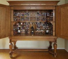 bibliotheca thurkowiana, miniatur librari, mini books, miniatur book, museum, book collection, 2dollhous miniatur, thurkowiana minor, dollhous librari