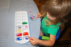 Mess For Less: Button Sorting by Color