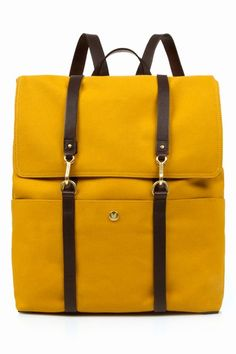 mustard yellow bag.