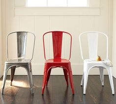 Tolix™ Cafe Chair eclectic dining chairs and benches