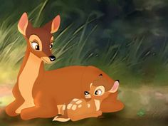 bambi and his mom | Loulou's views: The End of the Innocence