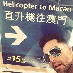 Whats up gang? In #HongKong on my way to #Macau Saludos familia desde #HongKong camino a #Macau #ChannelV #CHINAmusicAwards #VIDA