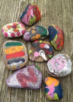 campfire wishing stones