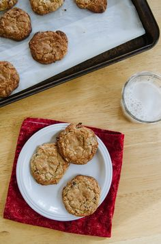 Bacon & Chocolate Chip Gluten Free Oatmeal Cookies