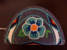 Native beaded coin purse