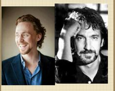 Can we talk about how they look kinda alike ( tom hiddleston, alan rickman) comments what u think