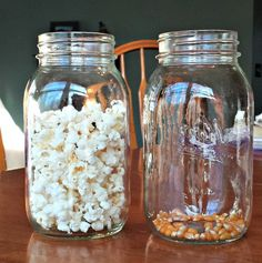 Super fun Science (and great math connection) -- Changes in matter and how the weight & mass of an object can change.  Compare 100 popped and un-popped kernels of corn.
