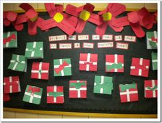 Checkout this great post on Bulletin Board Ideas! Christmas