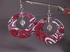soda can jewelry -embossed-