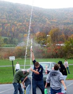 2-Liter Bottle Rocket--friday family fun night