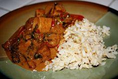 Red Thai Curry (vegan, gluten-free) - Vegetarian Gastronomy
