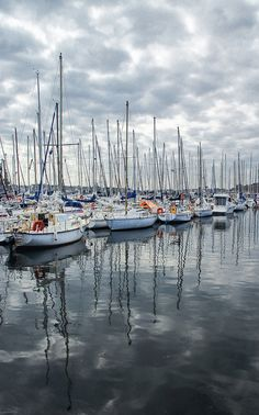 Harbor at St. Malo, France  looove it #summer #vacation
