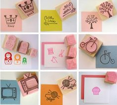 homemade stamp ideas