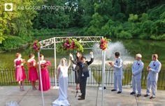 The Lakeside Pavilion at The Maryland Zoo in Baltimore- Lakeside Wedding #WeddingsatMDZoo