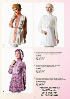 Gamis Modern Terbaru On Pinterest Muslim Hijabs And
