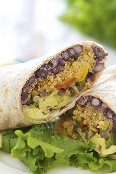 Southwestern Quinoa Wrap
