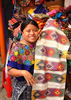 El Salvador Textiles: Will purchase lots of textiles, crafts and artwork.