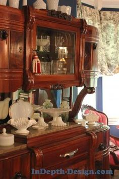 Milk Glass Collection and Antiques