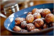 Banana Beignets. New Orleans nouveau cuisine ;-) #hotelmonteleone #TakeMetoNOLA