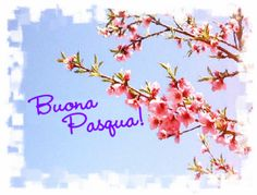 Biglietto d'auguri di Buona Pasqua