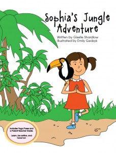 Sophia's Jungle Adventure - Giselle Shardlow - Review on Alldonemonkey.com