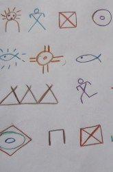 Third Grade History Activities: Native American Pictographs
