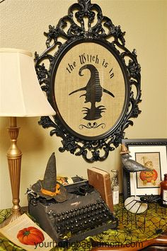 Halloween Decor - Easy DIY using a vinyl cutter.