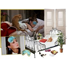 """""""Holly Golightly's Bedroom""""Breakfast at Tiffany's"""""""" by youmakemehappy7 on Polyvore"""