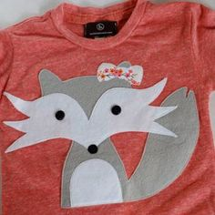 felicity the shy fox tshirt
