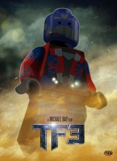 Lego Transformers 3 Poster