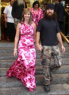 duck dynasty photos   Duck Dynastys Missy Robertson in a camo dress