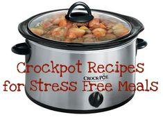 10 Crockpot Recipes for Stress Free Meals