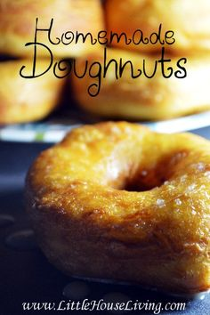 Homemade Doughnuts Recipe. Enjoy these hot and fresh, from-scratch doughnuts with your family for a special breakfast treat!